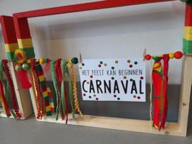 DIY pakket Carnavals houten frames