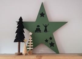 DIY grote Kerstster