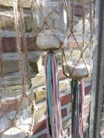 DIY knoophangers touw