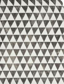 2. Zwart wit driehoek behang