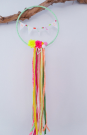 DIY kids pakket bloemenkrans neon