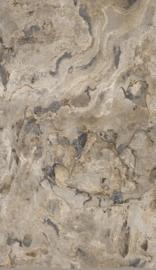 2. Bruingrijs steen behang