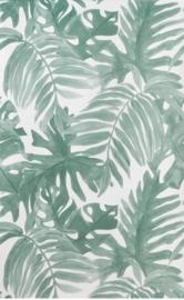 6. Lente groen behang