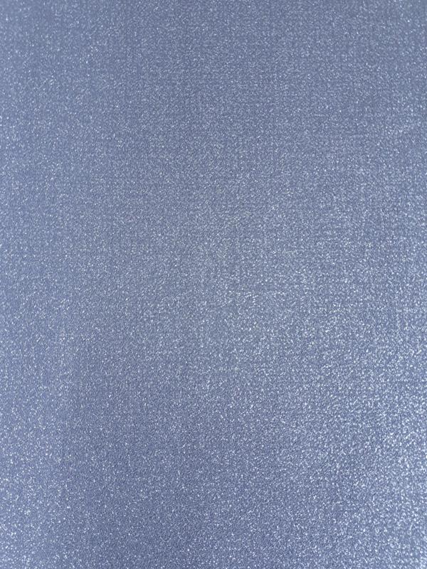 13. Blauw uni met glitter behang