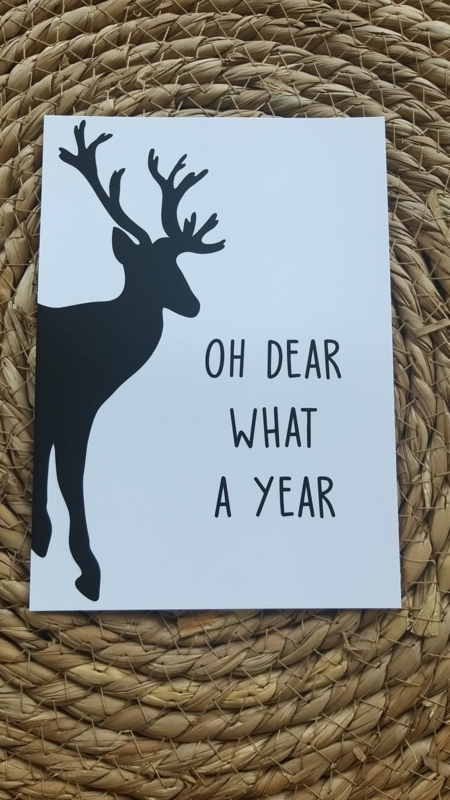 Oh dear what a year