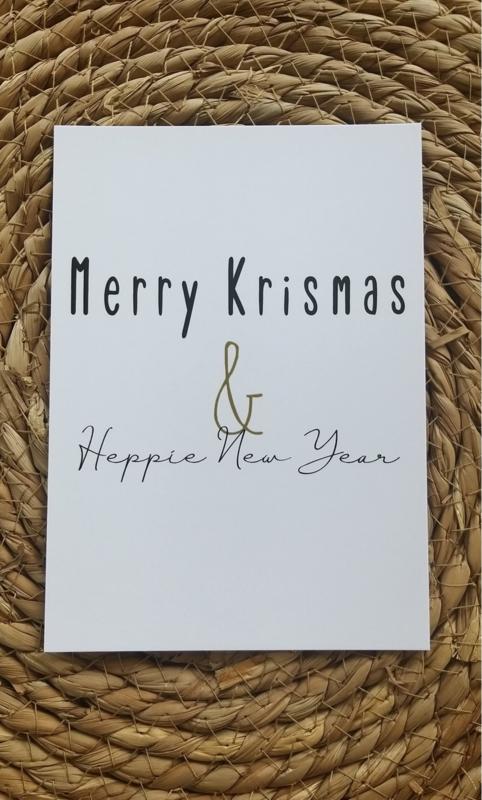 Merry Krismus & Heppie New Year