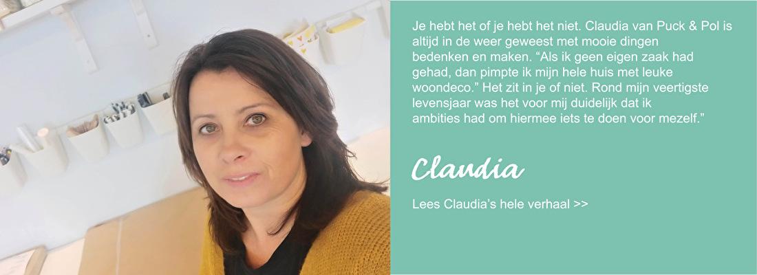 Claudia persoonlijk