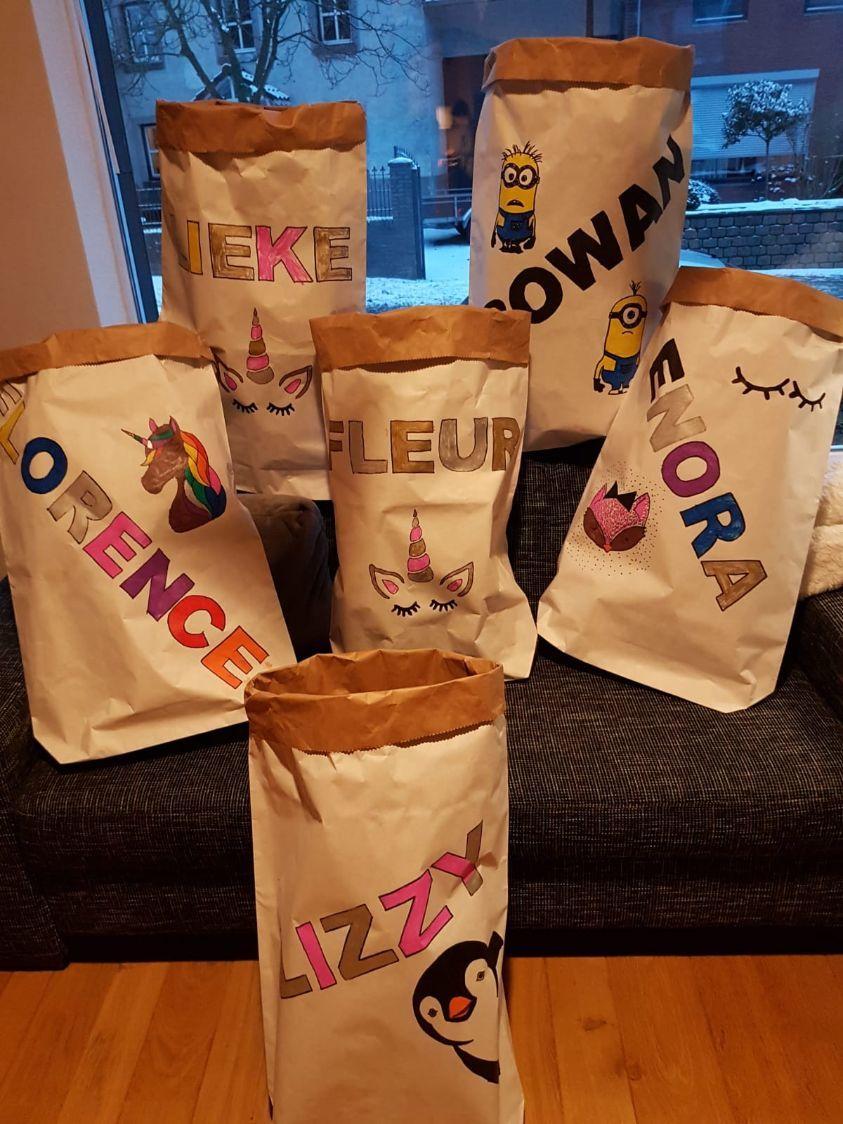 paperbag kinderfeestje