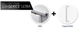 Schuifdeur pakket Slimserie ULTRA hang en sluit 537 - Deurgreep Tupelo