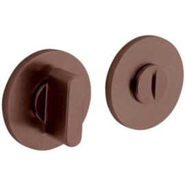Olivari rozet rond toiletgarnituur brons mat titaan pvd