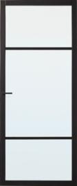 Skantrae SlimSeries Zwarte Binnendeur SSL 4006 Nevelglas