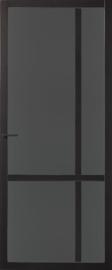 Skantrae SlimSeries Zwarte Binnendeur SSL 4027 Rookglas
