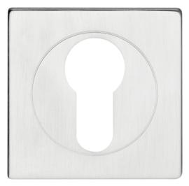 Skantrae Mat chroom Cilinderrozet Square Ultra slim