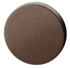 blinde rozet 50x8 mm Bronze blend