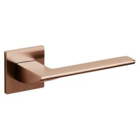 Olivari deurkruk Trend op rozet koper mat titaan pvd