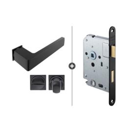 Draaideur pakket Slimserie hang en sluit 810 - Deurkruk Dayton