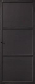 Skantrae SlimSeries Zwarte Binnendeur SSL 4093 paneeldeur
