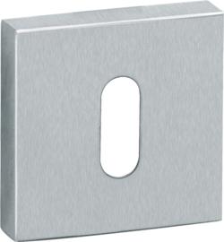 Sleutelrozet Vierkant Mat RVS - MD 0204