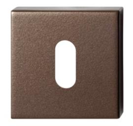 sleutelrozet 50x50x8 mm Bronze blend