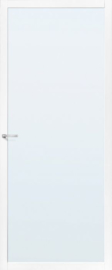 Skantrae SlimSeries Witte Binnendeur SSL 4400 Nevelglas