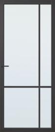 CanDo binnendeur Capital Lincoln zwart met blank glas