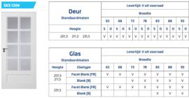 Skantrae Accent SKS 1204 facet blank glas