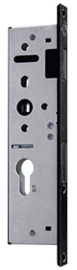 Nero Legno Magneet smalslot - cilinderslot -stalen kozijn