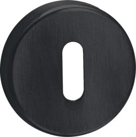 Sleutelrozet Rond Mat Zwart - ID 1003