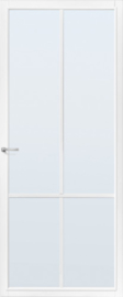 CanDo binnendeur Capital Topeka wit met mat glas
