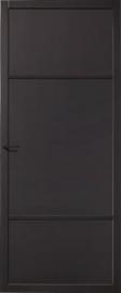 Skantrae SlimSeries Zwarte Binnendeur SSL 4086 paneeldeur