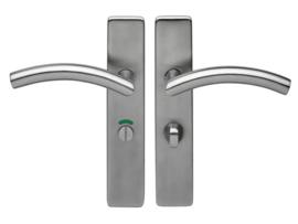 Skantrae RVS deurgreep Libra op langschild
