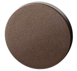 Blinde rozet 50x6 mm Bronze blend