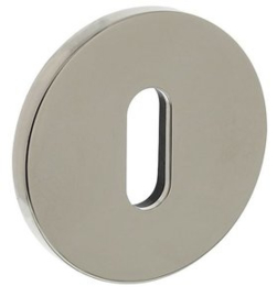 Olivari rozet rond sleutelgat nikkel titaan PVD