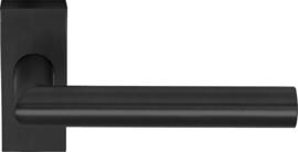 Deurkruk Rechthoekig Mat Zwart - ID 1300