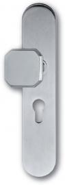 Skantrae Mat chroom veiligheidsgarnituur ovaal Easy, knop Sligro