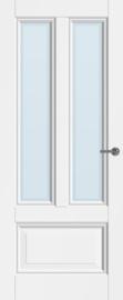 CanDo binnendeur Traditional Muiden met blank facetglas