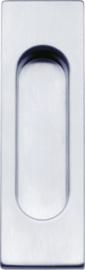 Schuifdeurkom Point mat chroom