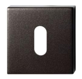 sleutelrozet 50x50x8 mm Dark blend
