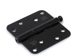 Skantrae Paumelle kogellager scharnier 89x89 glimmend zwart