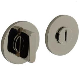 Olivari toiletgarnituur rond nikkel titaan PVD