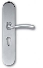 Skantrae Mat chroom veiligheidsgarnituur ovaal Easy