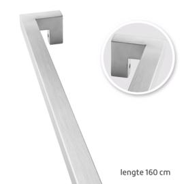 TAATS deur pakket Slimserie ULTRA hang en sluit 610 - Deurgreep Tupelo RVS 160 cm