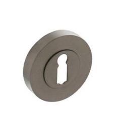 Intersteel Rozet met sleutelgat Ø52x10mm antracietgrijs