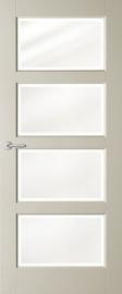 Austria Binnendeuren Entry Line Brady - Blank facetglas