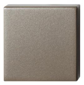 Blinde rozet 50x50x8 mm Mocca blend