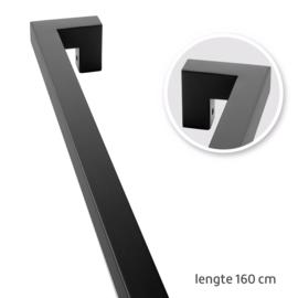 TAATS deur pakket Slimserie ULTRA hang en sluit 611 - Deurgreep Tupelo mat zwart 160 cm