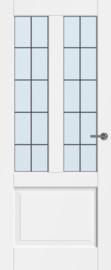 CanDo binnendeur Dimension Jersey met glas-in-lood 10-ruits
