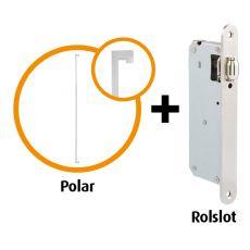 Handgreep pakket Polar RVS