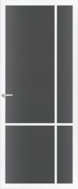 Skantrae SlimSeries witte Binnendeur SSL 4407 Rookglas