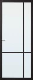 Skantrae SlimSeries Zwarte Binnendeur SSL 4007 Nevelglas